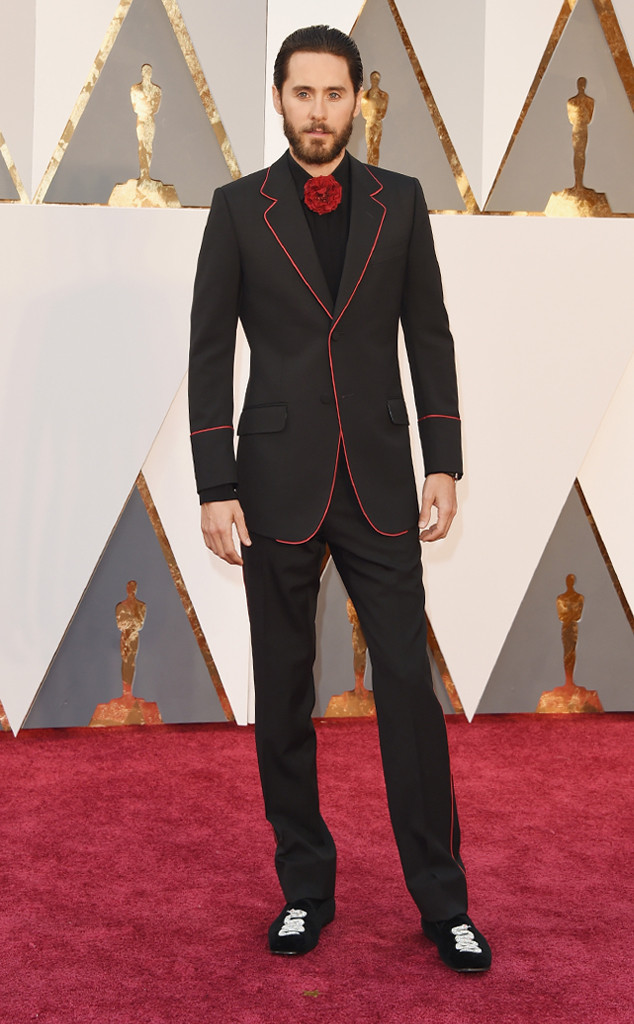 Jared Leto Reveals at 2016 Oscars That He Stared at Oprah ...