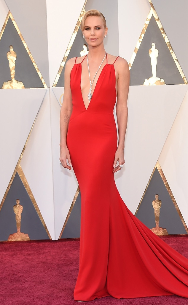 Charlize theron from lea black 39 s take on oscars 2016 for Jewelry at the oscars 2016