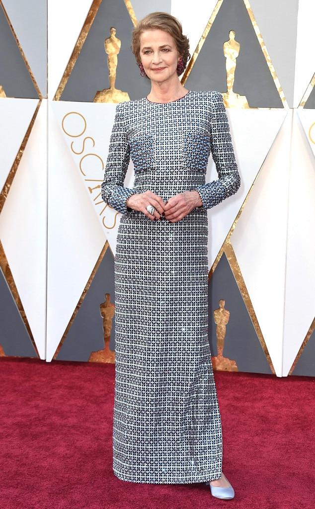 Charlotte Rampling, 2016 Oscars, Academy Awards, Arrivals