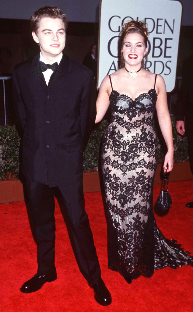 Kate Winslet, Leonardo Dicaprio, Golden Globes