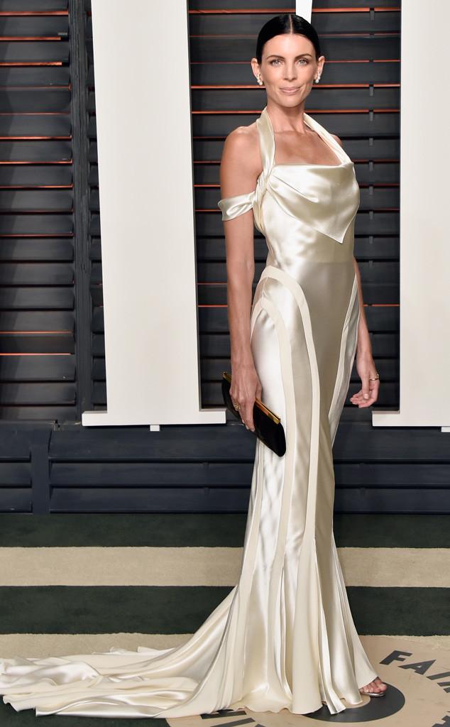 Vanity Fair Oscars Party, Liberty Ross, Wedding Dress