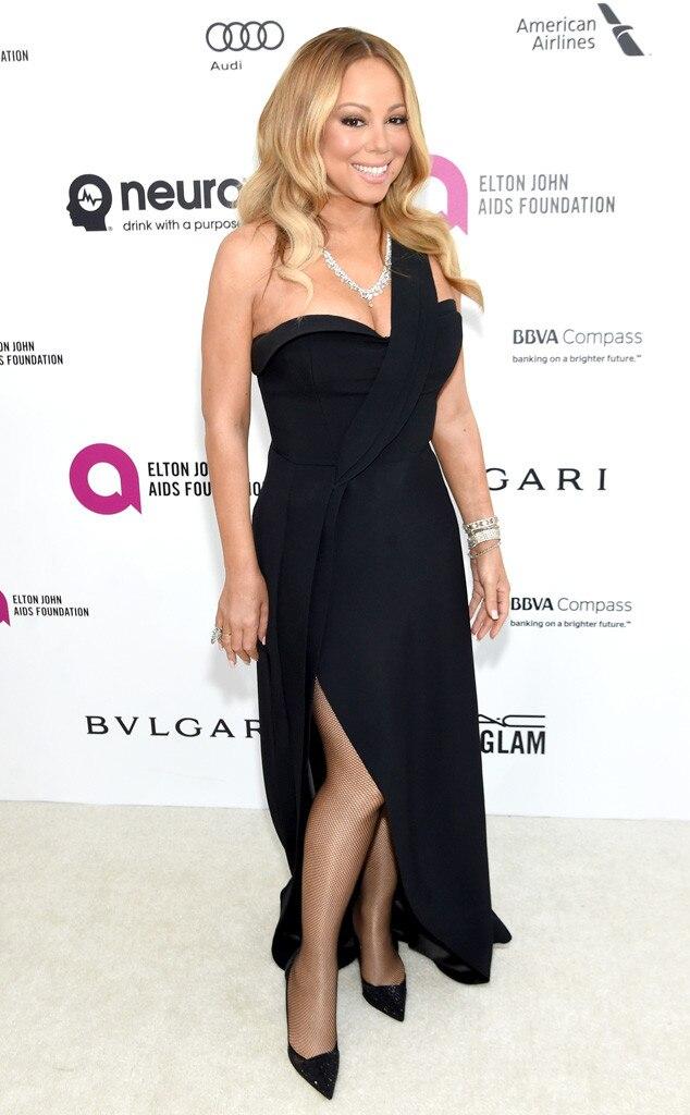 Elton John Oscars Party, Mariah Carey