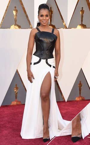 Kerry Washington, 2016 Oscars, Academy Awards, Shoes