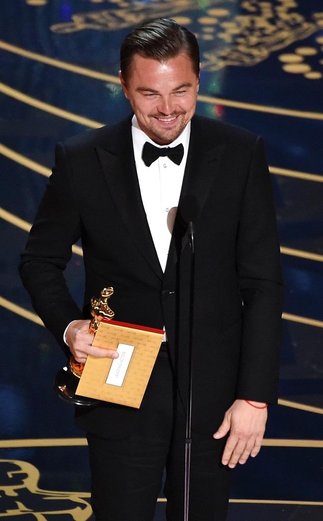 Leonardo DiCaprio, 2016 Oscars, Academy Awards, Winner