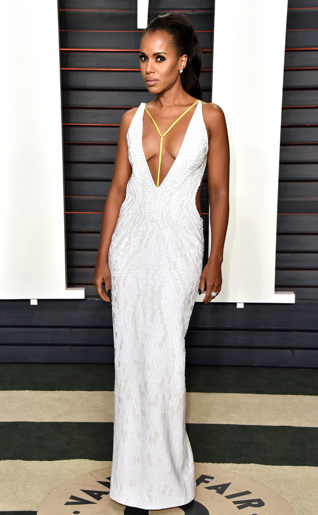 Vanity Fair Oscars Party, Kerry Washington