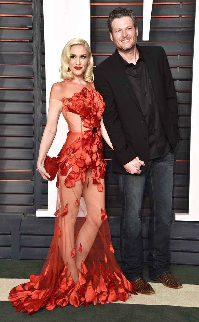 Vanity Fair Oscars Party, Gwen Stefani, Blake Shelton