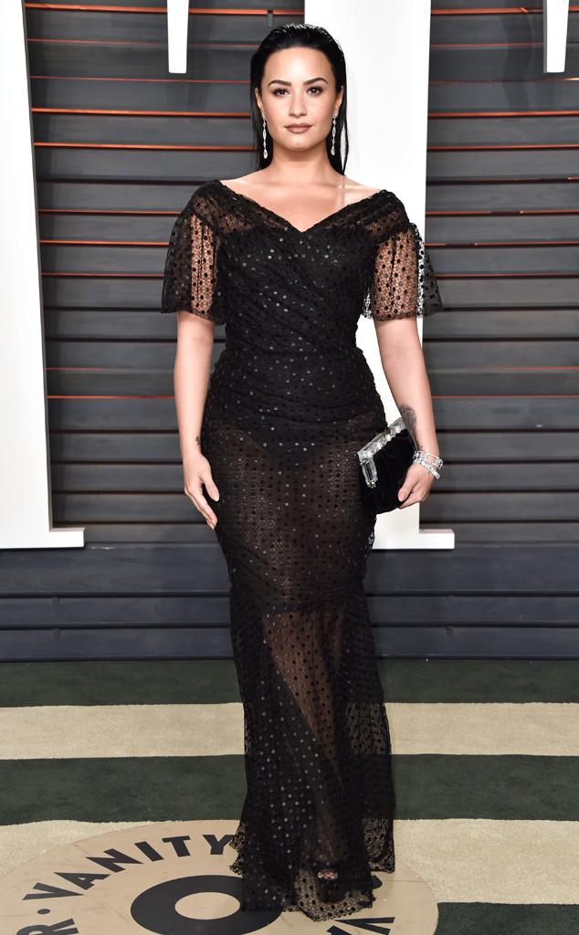 Vanity Fair Oscars Party,  Demi Lovato