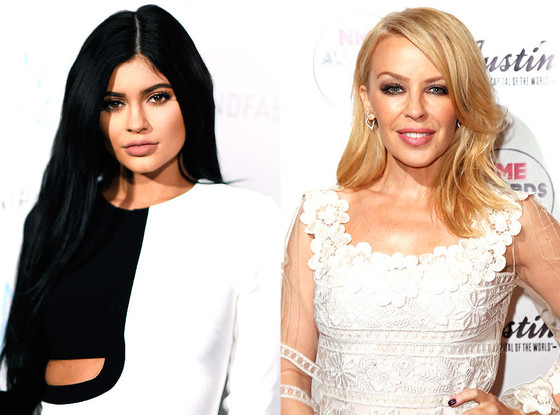 Kylie Jenner, Kylie Minogue