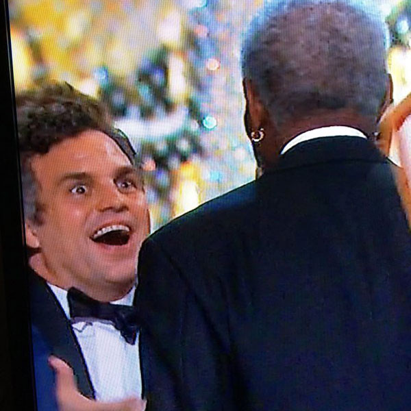 Mark Ruffalo, Oscar Reaction
