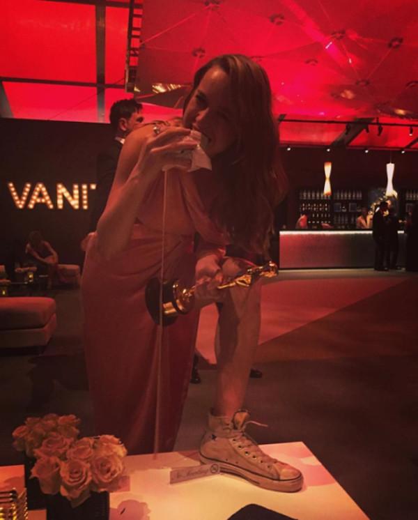 2016 Oscar Party Pics Instagram