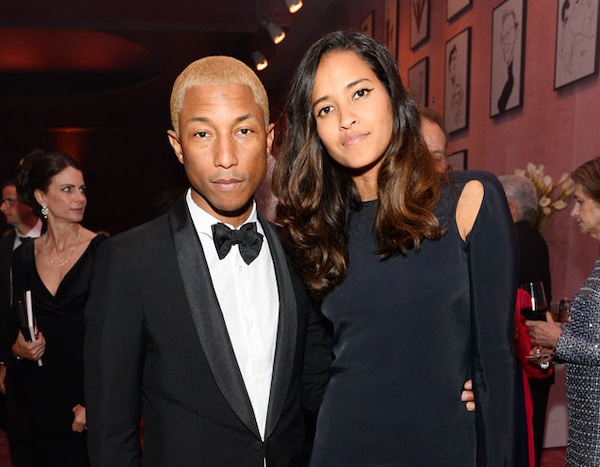 Pharrell Williams & Helen Lasichanh from Oscars 2016 ...