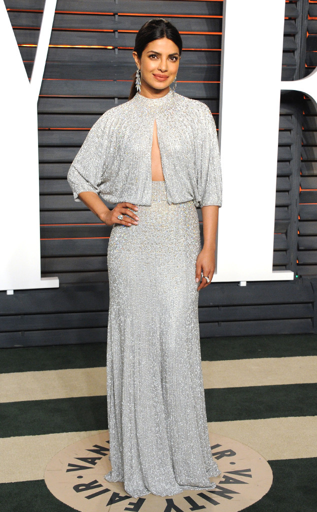 Priyanka Chopra, 2016 Vanity Fair Oscar Party