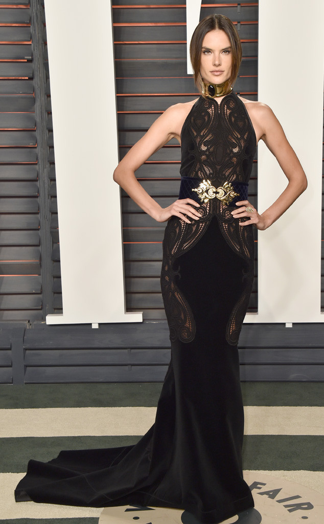 Alessandra Ambrosio, 2016 Vanity Fair Oscar Party