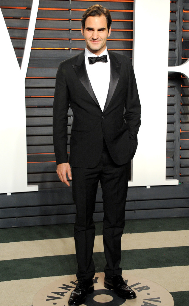 Roger Federer, 2016 Vanity Fair Oscar Party