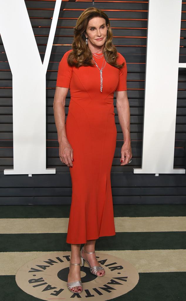 Caitlyn Jenner, Vanity Fair Oscars Party