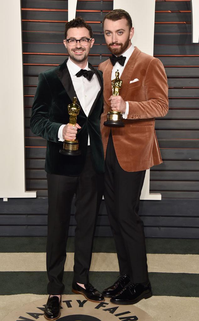 James Napier, Sam Smith, Vanity Fair Oscars Party