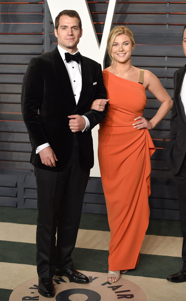 Henry Cavill, Tara King, Vanity Fair Oscars Party