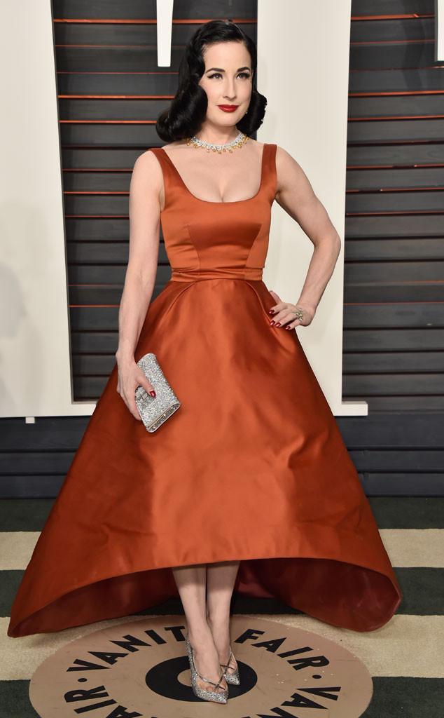 Dita Von Teese, Vanity Fair Oscars Party