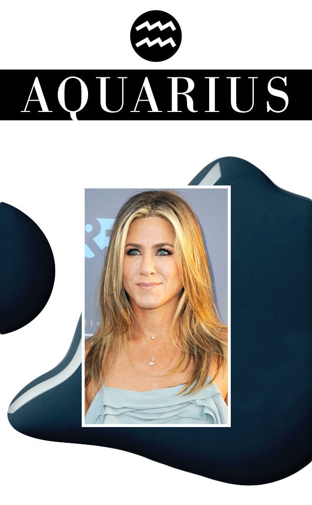 ESC, March Horoscopes, Jennifer Aniston, Aquarius