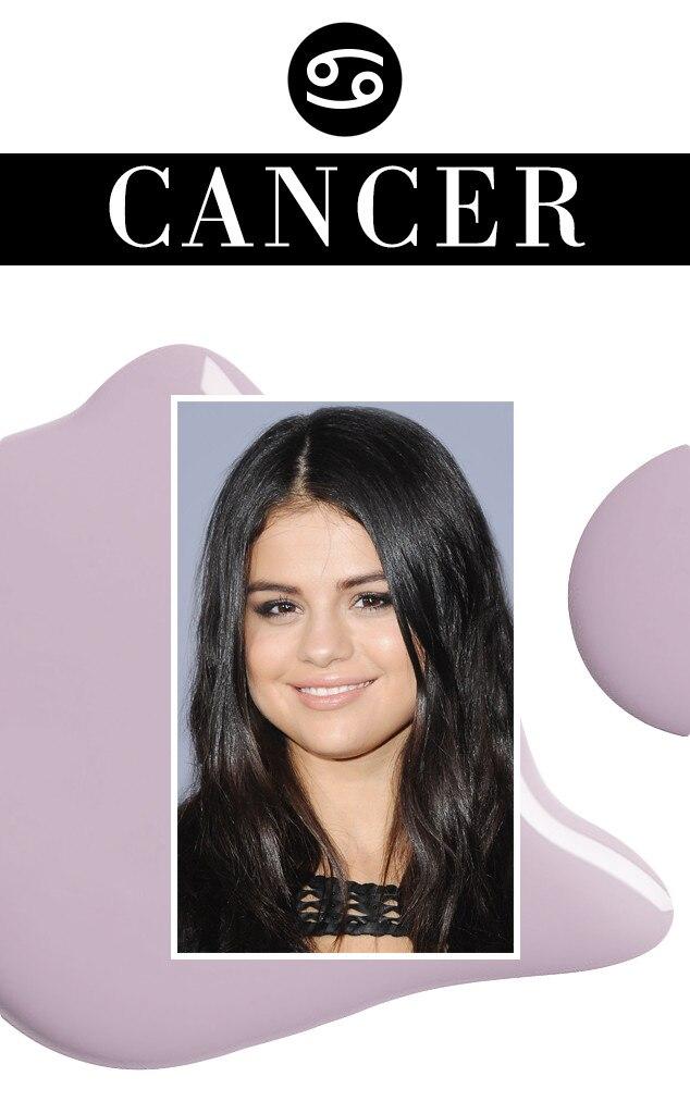 ESC, March Horoscopes, Selena Gomez, Cancer