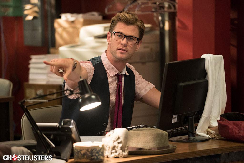 Chris Hemsworth, Ghostbusters Movie