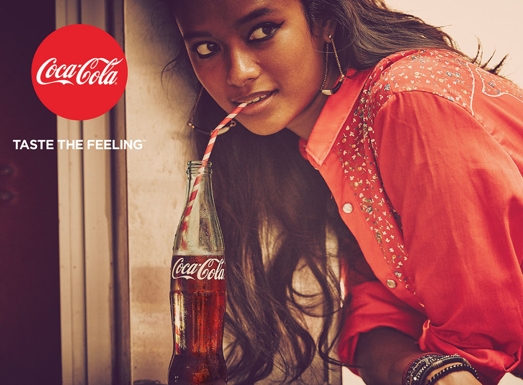 Image result for advertising coca cola photography