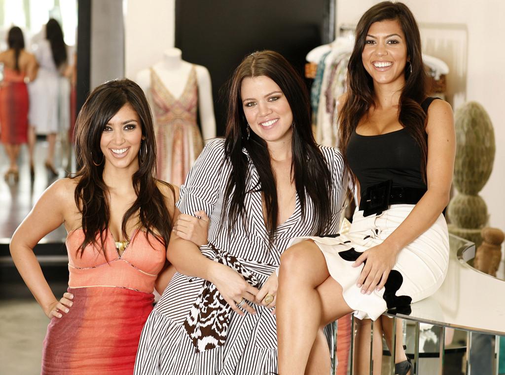 Kim Kardashian, Khloe Kardashian, Kourtney Kardashian, Dash Store, 2006