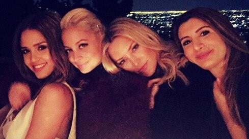 Jessica Alba, Nicole Richie, Kate Hudson, Nasim Pedrad, Celeb Squads