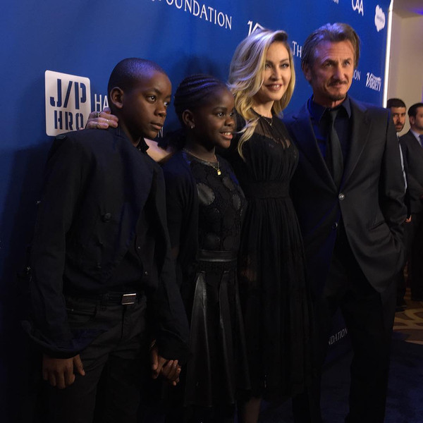 Madonna, Sean Penn, David, Mercy, Marc Malkin Instagram