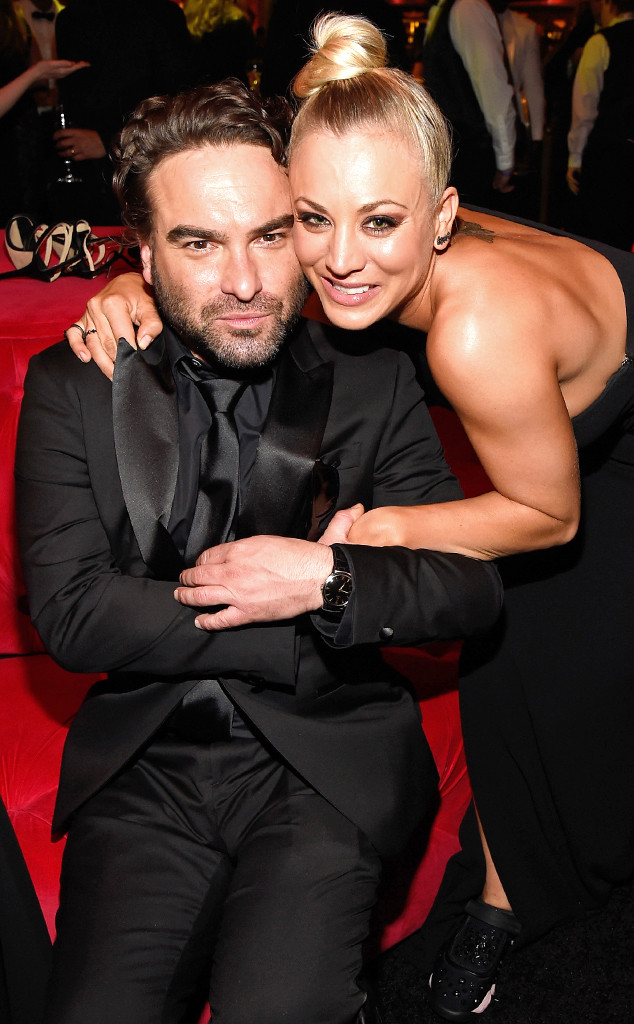 Johnny Galecki, Kaley Cuoco, SAG Awards