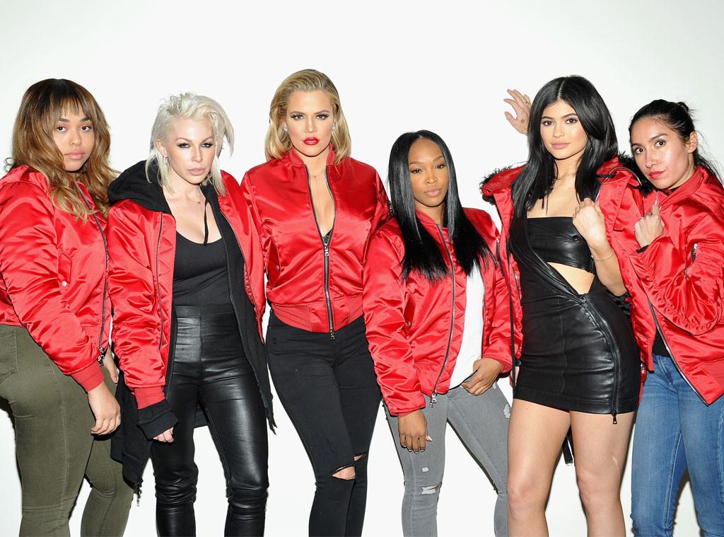 Joyce Bonelli, Khloe Kardashian, Malika Haqq, Kylie Jenner, Jen Atkin