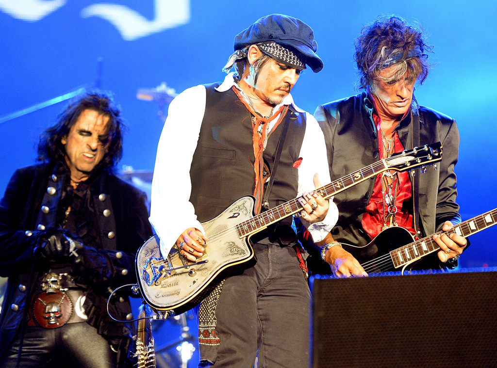 Alice Cooper, Johnny Depp, Joe Perry, Hollywood Vampires