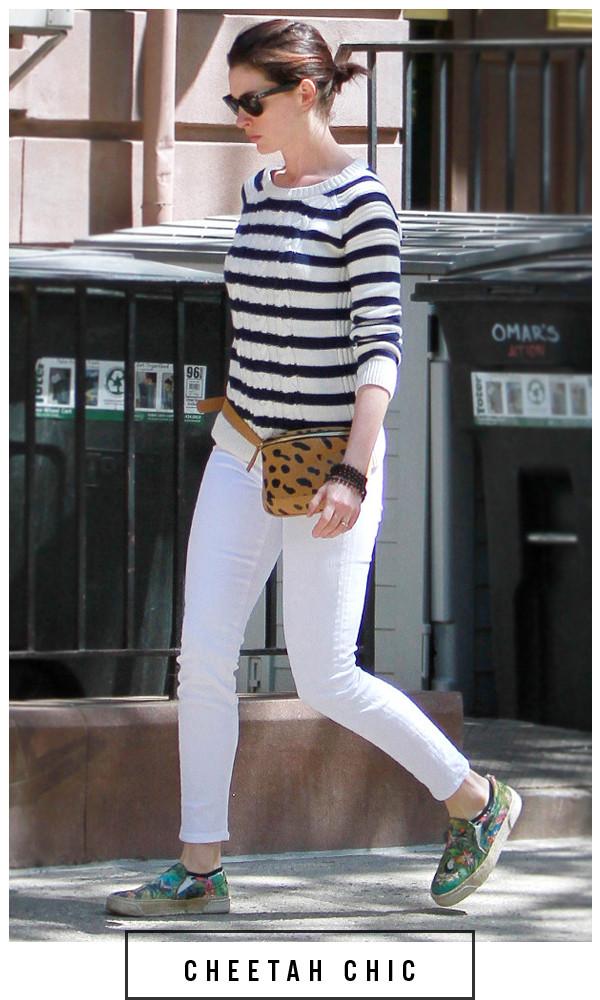 Anne Hathaway, ESC: Fanny Packs