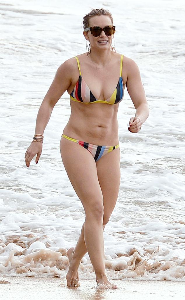 Hilary Duff, Bikini