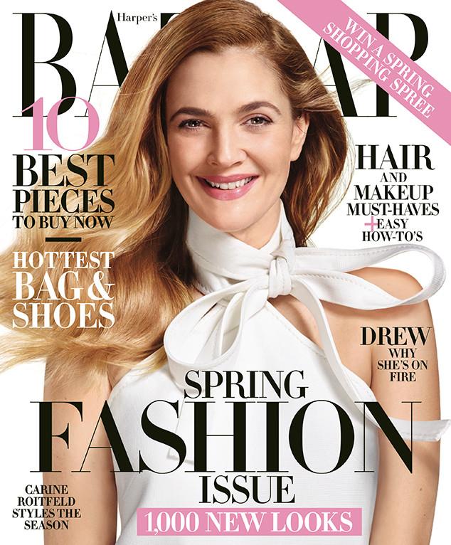 Drew Barrymore, Haper's Bazaar