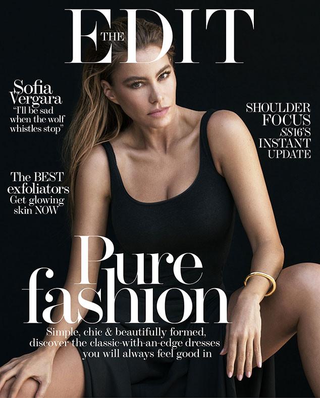 Sofia Vergara, Cover, The Edit