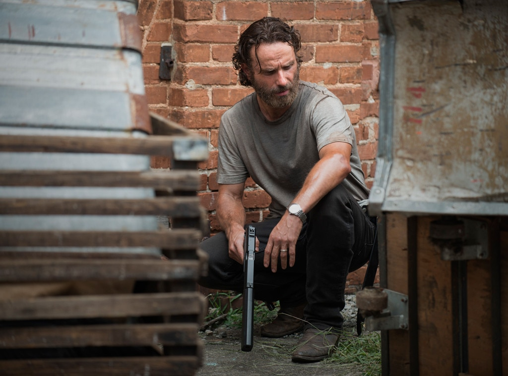 Andrew Lincoln, The Walking Dead Changes