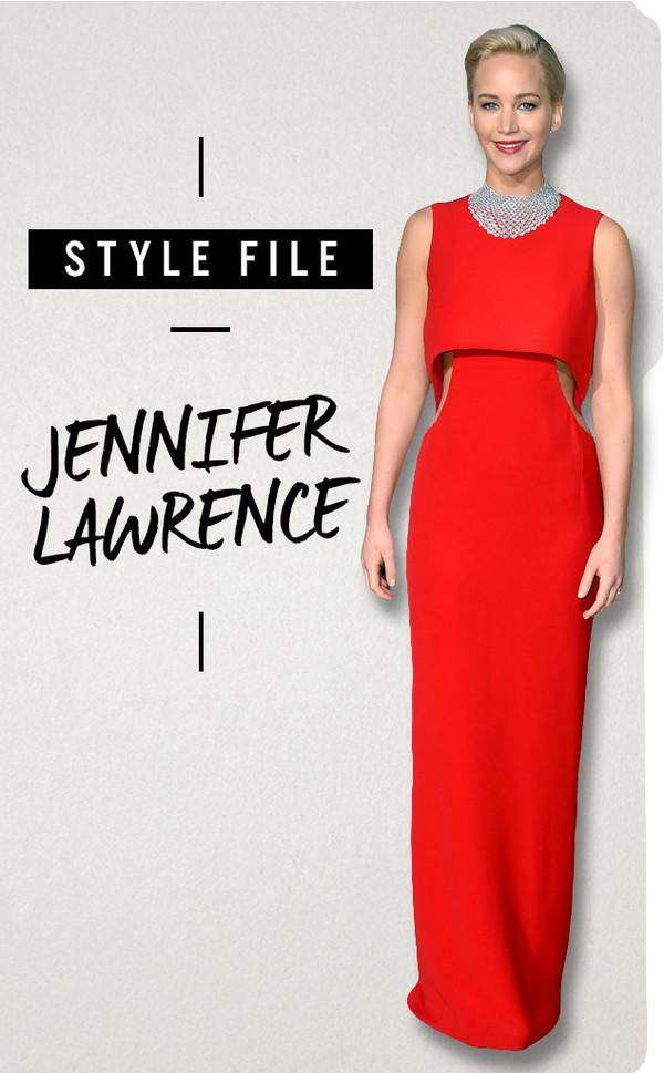 ESC, Jennifer Lawrence, Style File