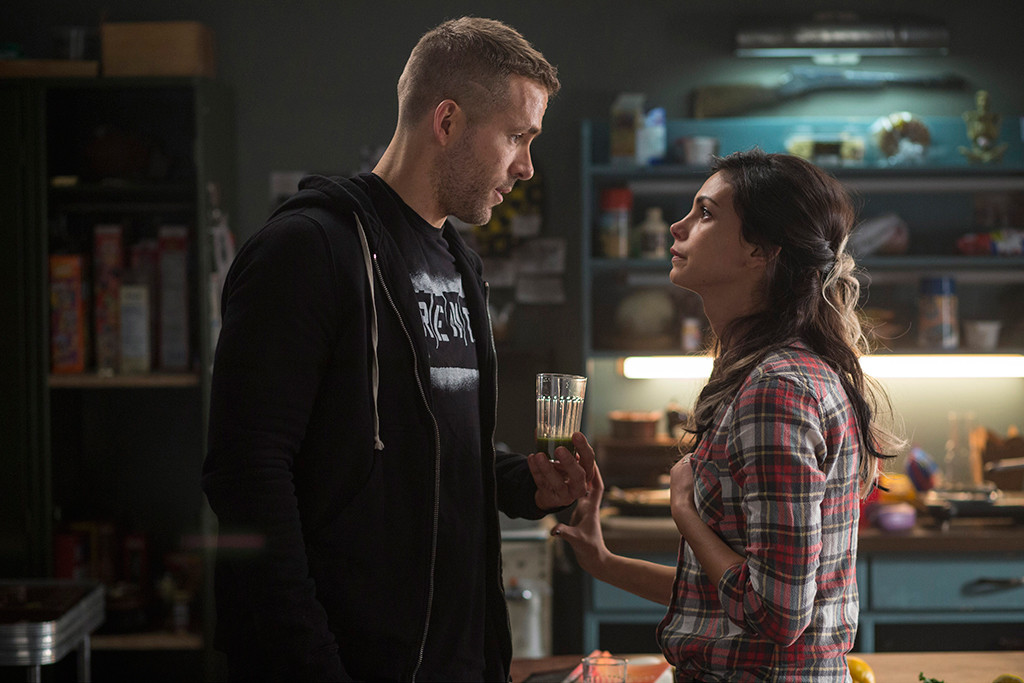Deadpool, Ryan Reynolds, Morena Baccarin