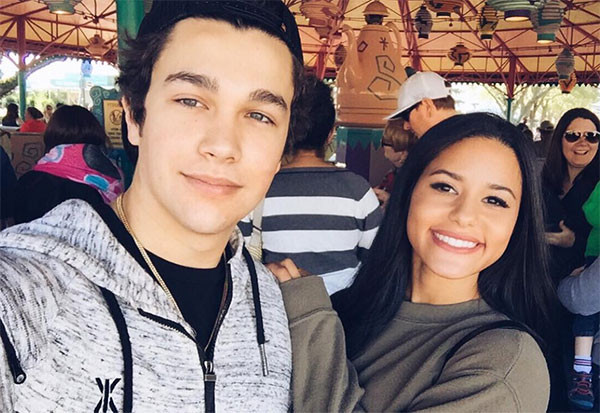 Austin Mahone, Katya Henry, Disney World