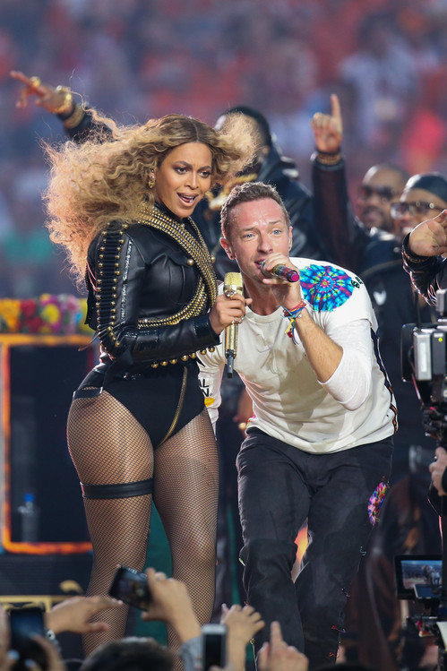Beyonce, Chris Martin, Super Bowl