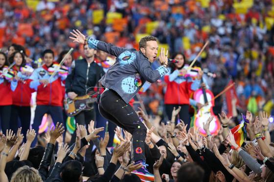 Chris Martin, Coldplay, Super Bowl