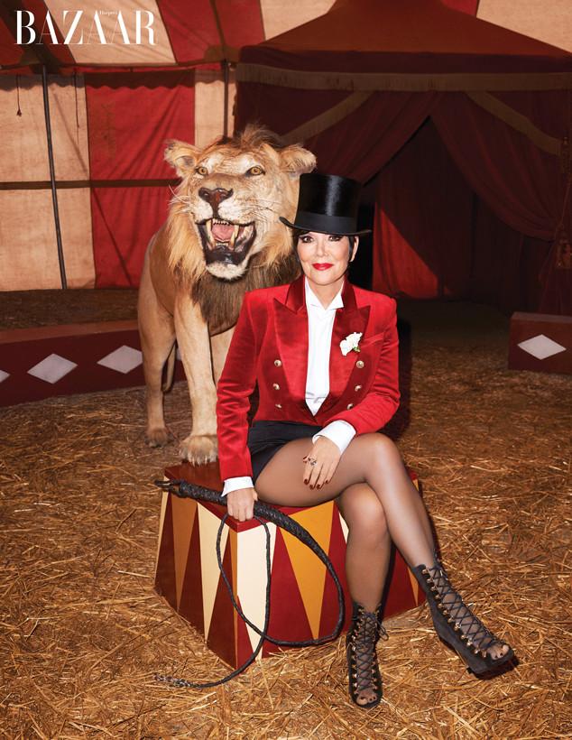 Kris Jenner, Harper's Bazaar