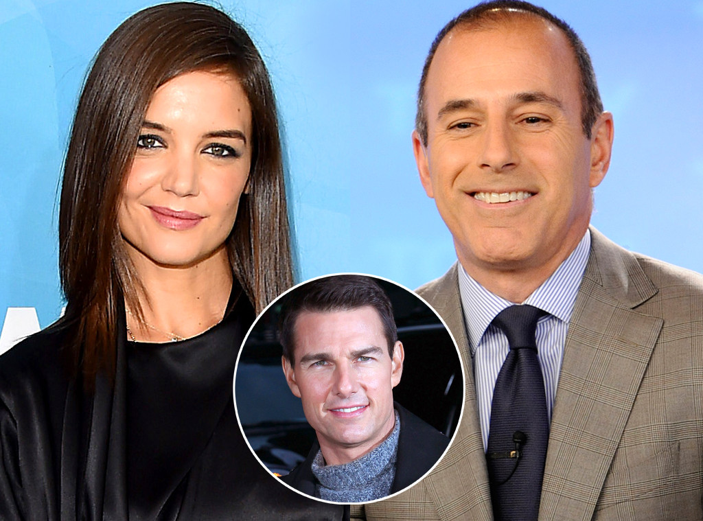Matt Lauer Discusses Antidepressants With Katie Holmes On Today 11 Years After Tom Cruise Called Him Glib E Online
