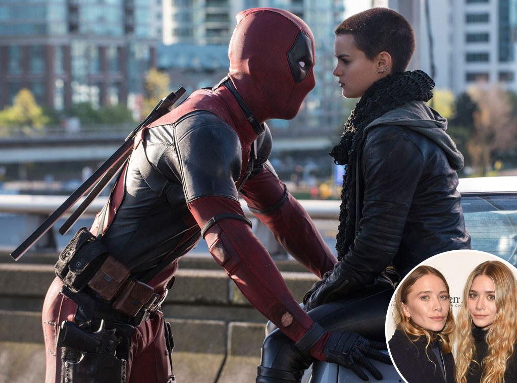 Ryan Reynolds, Deadpool, Mary-Kate Olsen, Ashley Olsen