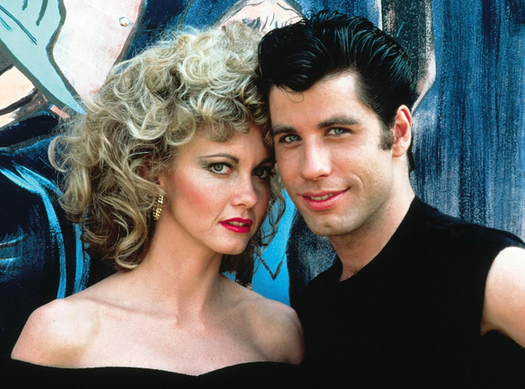 Olivia Newton-John, John Travolta, Grease