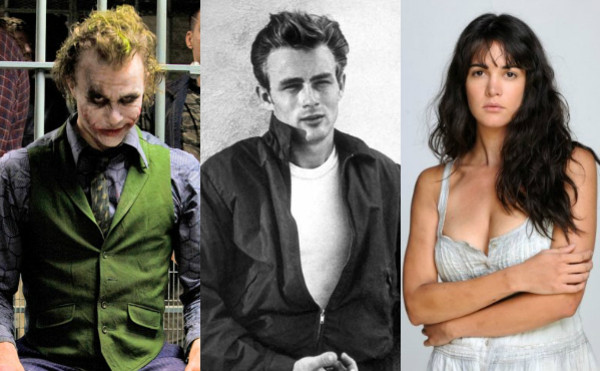 Heath Ledger, James Dean, Monica Spear
