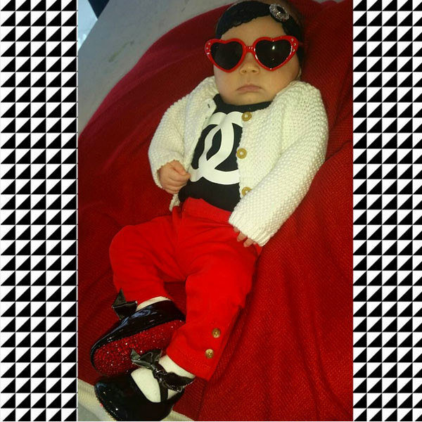 173a7eeb8a8 Coco Shares Pic of Chanel in Baby Louboutins  She Is Just Too ...