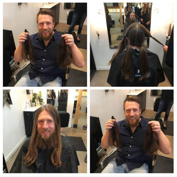 Daniel Bryan Chops Off His Hair For A Good Cause After Announcing