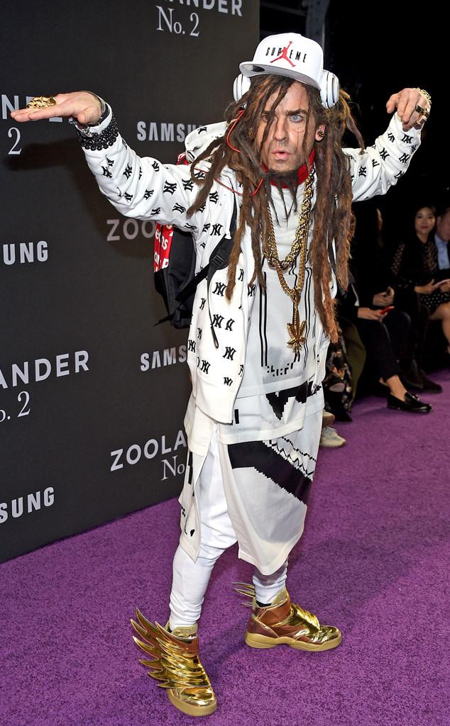 Justin Theroux, Zoolander 2 NY Premiere
